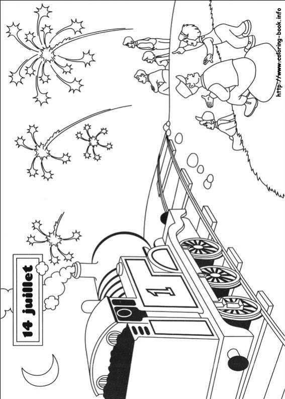 ภาพวาดระบายสีโธมัสยอดหัวรถจักร 15