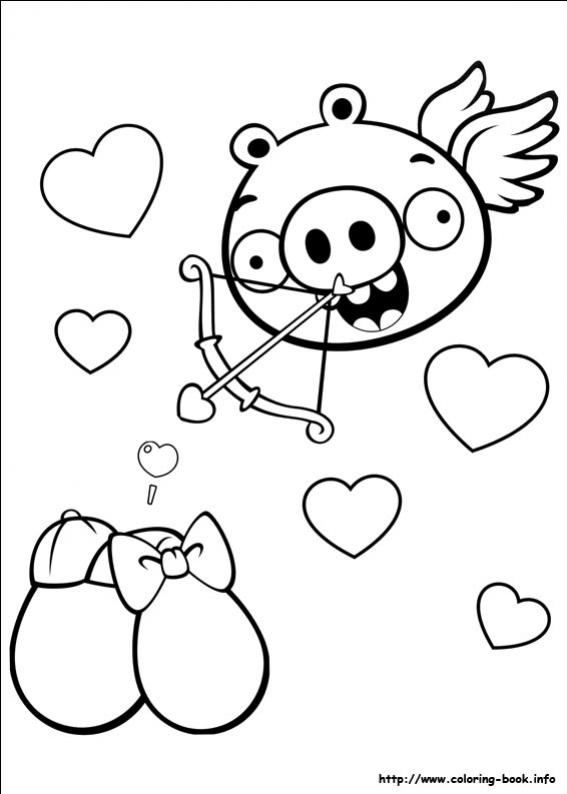 ภาพวาดระบายสีAngry Birds 20
