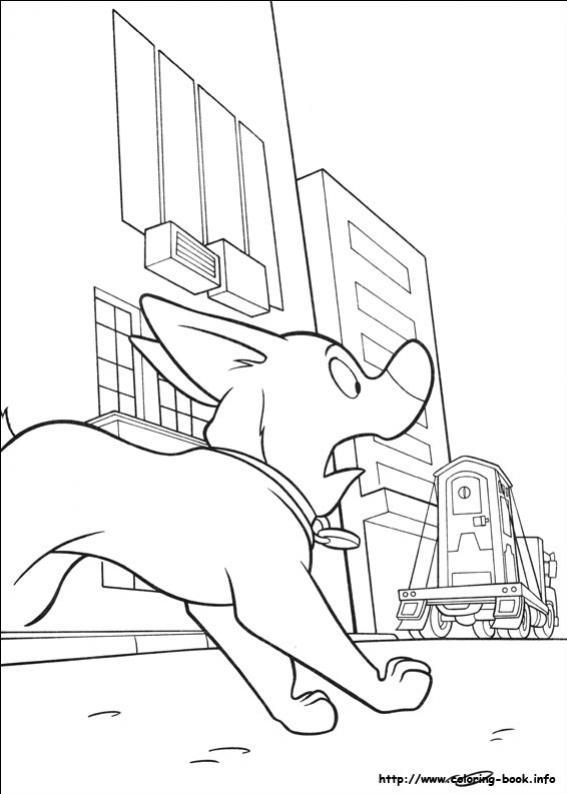 ภาพวาดระบายสีโบลท์ ซูเปอร์โฮ่ง-12