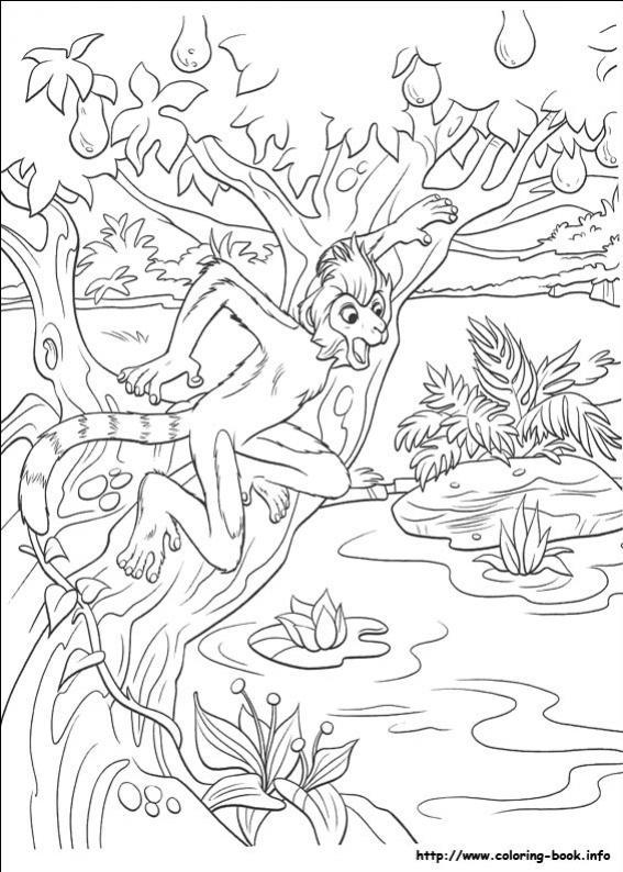 ภาพวาดระบายสีDinosaur 37