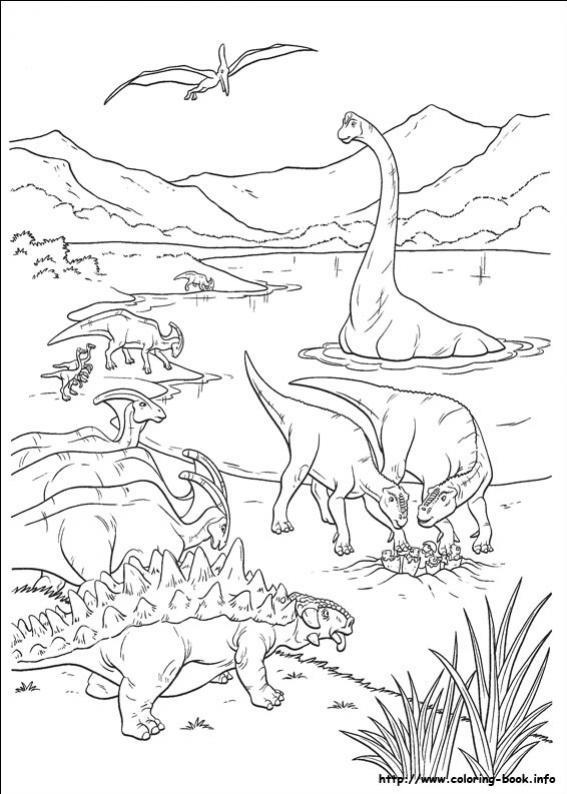 Dinosaur - Mandala dinosaure ...