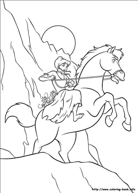 ภาพวาดระบายสีซินเดอเรลล่า 33