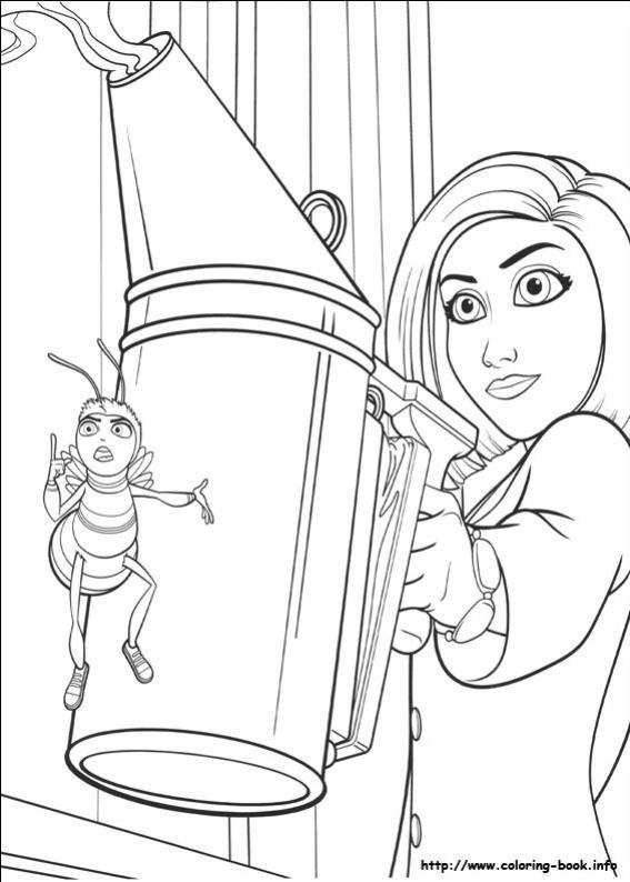 ภาพวาดระบายสีผึ้งน้อยหัวใจบิ๊ก 25