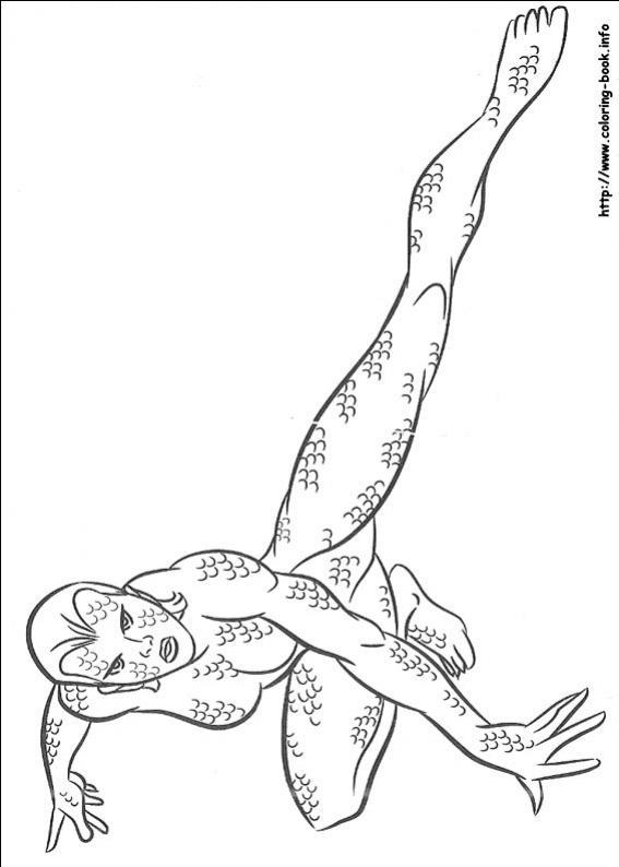 ภาพวาดระบายสีX-men 14