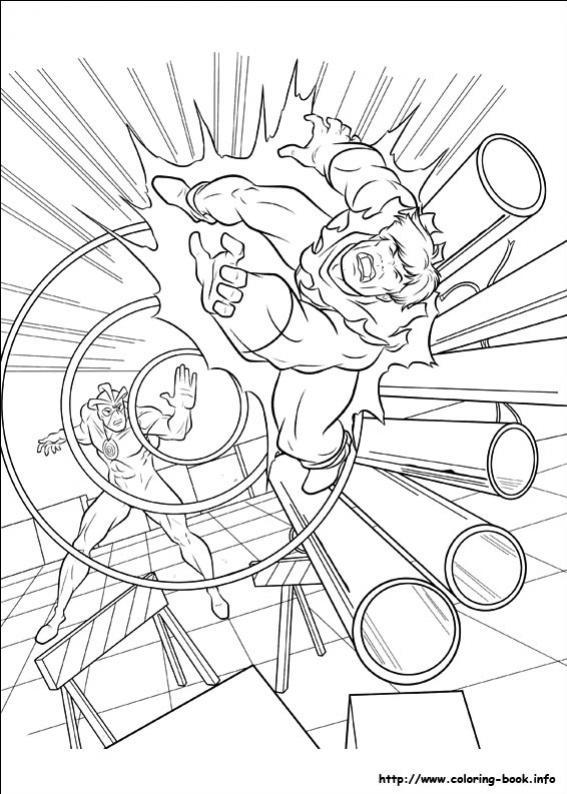 ภาพวาดระบายสีX-men 28