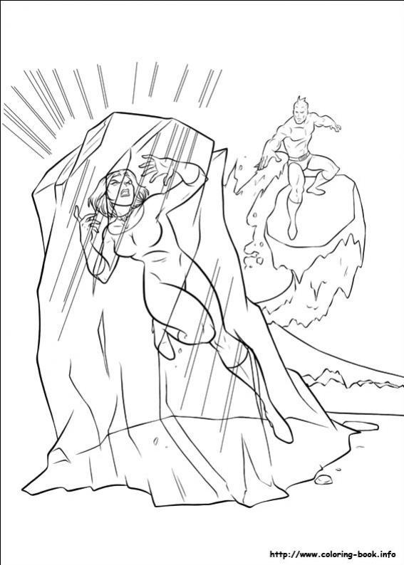 ภาพวาดระบายสีX-men 35