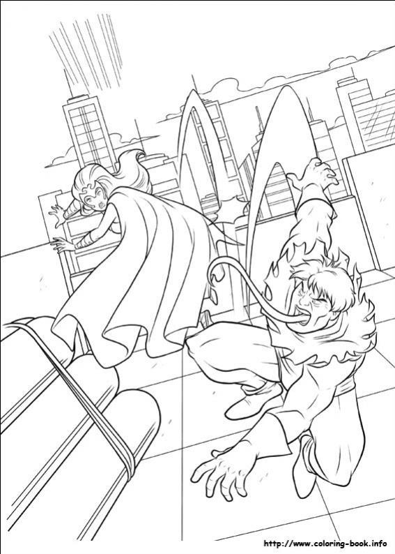 ภาพวาดระบายสีX-men 26