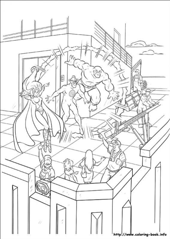 ภาพวาดระบายสีX-men 25