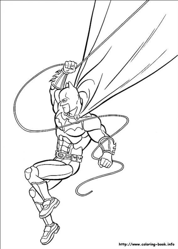 ภาพวาดระบายสีBatman 16