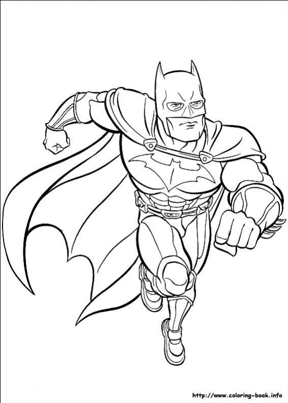 ภาพวาดระบายสีBatman 15