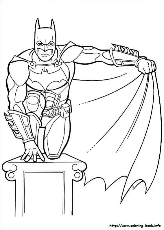 ภาพวาดระบายสีBatman 20