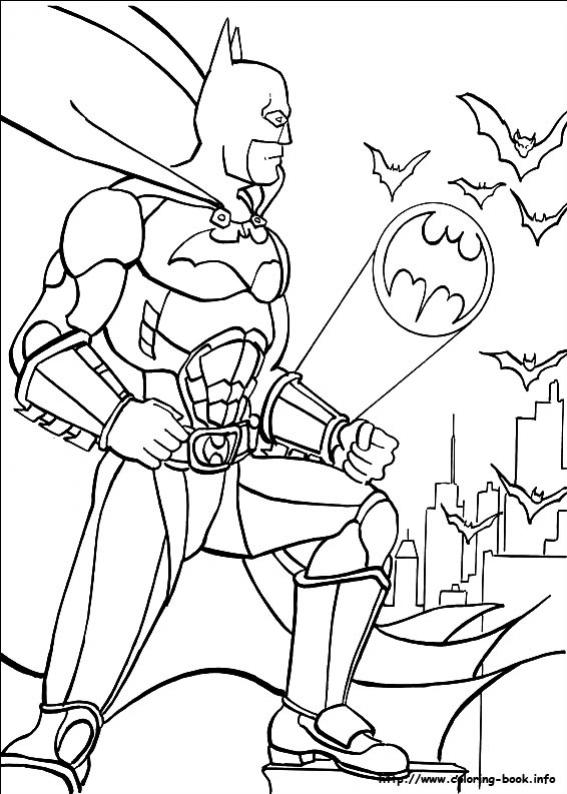 ภาพวาดระบายสีBatman 19