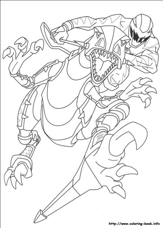 ภาพวาดระบายสีพาวเวอร์เรนเจอร์ 47