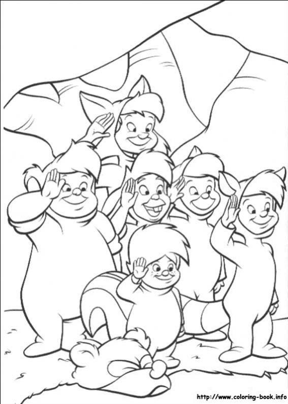 ภาพวาดระบายสีปีเตอร์แพน 04