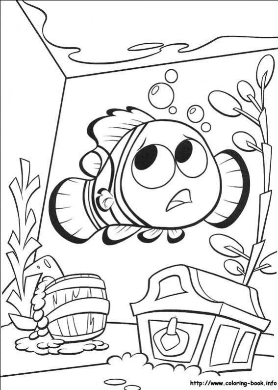 ภาพวาดระบายสีไฟน์ดิงนีโม 20