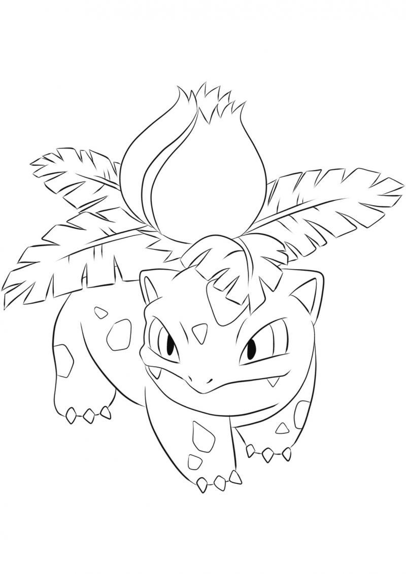 Pokemon - Pagina da colorare bulbasaur ...