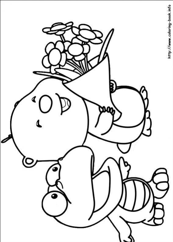 ภาพวาดระบายสีโพโรโระ 9