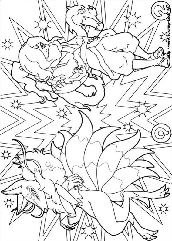 ภาพวาดระบายสีkyubi-venoct