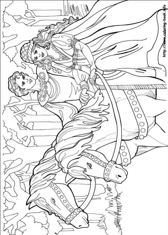 ภาพวาดระบายสีPrincess Leonora 19
