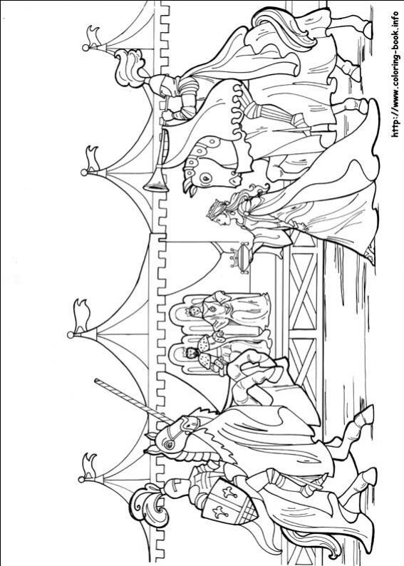 ภาพวาดระบายสีPrincess Leonora 20