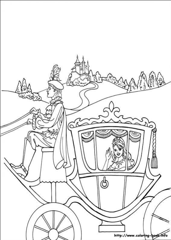 ภาพระบายสีเจ้าหญิงลีโอโนร่า Princess Leonora Princess