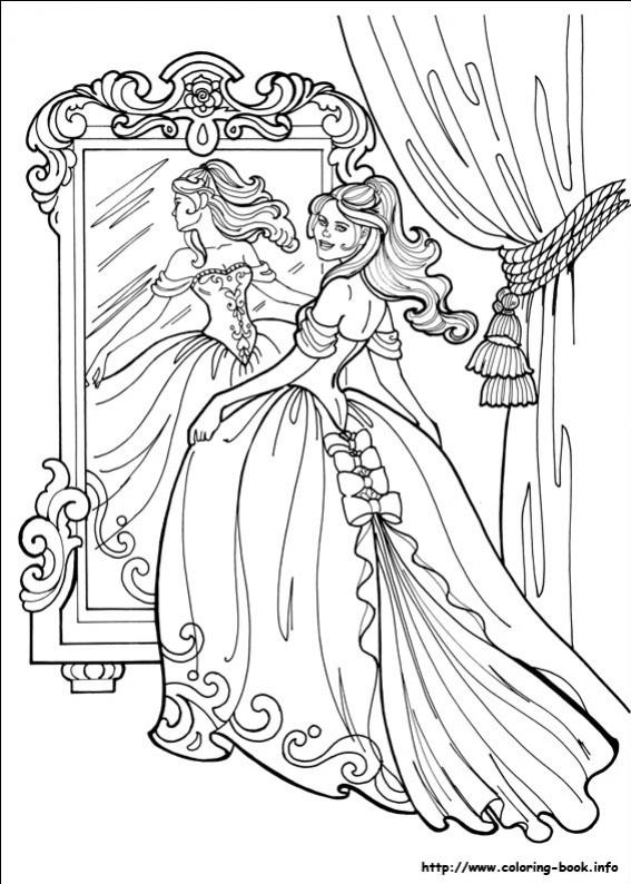 Princess leonora princess - Coloriage princesse halloween ...