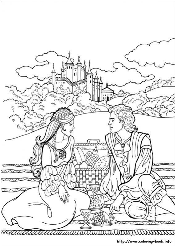 ภาพวาดระบายสีPrincess Leonora 21