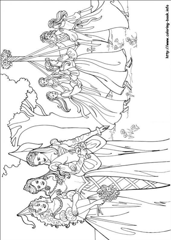 ภาพวาดระบายสีPrincess Leonora 16