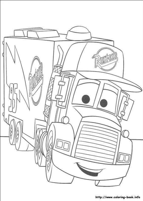 ภาพวาดระบายสีCars 09