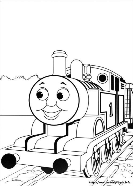 Cars cars 29 - Immagini del treno per colorare ...