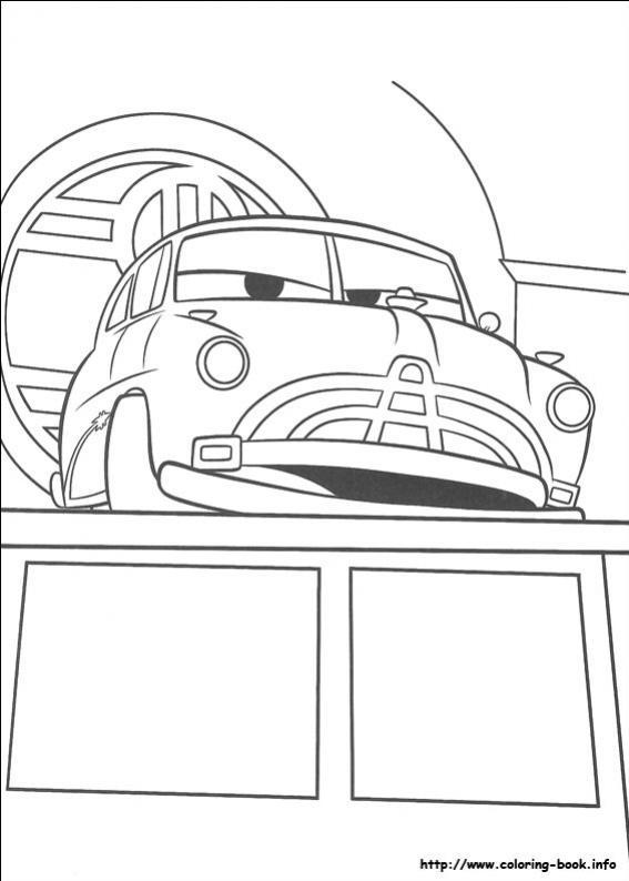 ภาพวาดระบายสีCars 07